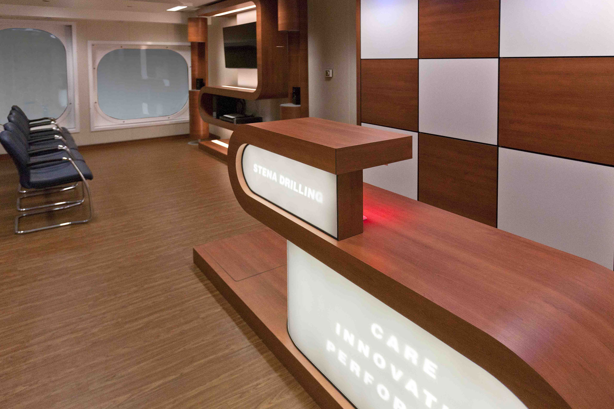 Office Areas, Receptions, Control Rooms & Heli Admin Lounges